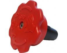 Aanzuig ventielknop