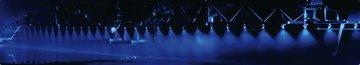 Nachtsproeiverlichting blauw